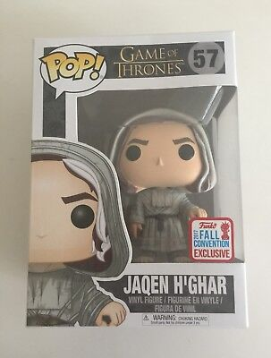 Funko Pop! Vinyl Game of Thrones GoT 57 Jaqen H'Ghar Fall Convention Exclusive