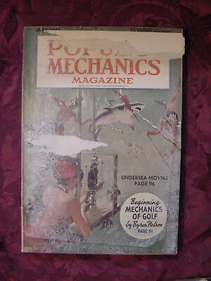 POPULAR MECHANICS Magazine May 1946 Byron Nelson Golf DDT Le Tourneau