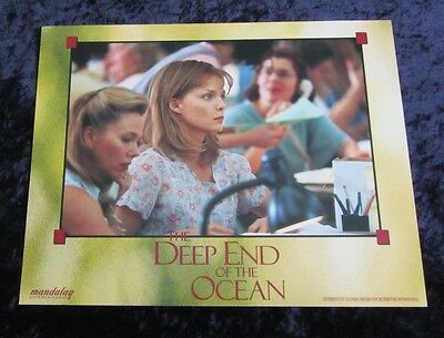The Deep End Of The Ocean lobby card # 2 Michelle Pfeiffer