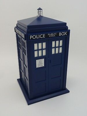 Doctor Dr Who TARDIS Cookie Jar Biscuit Tin WITH Lights and Sound