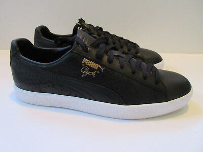 finest selection 2f71f f7d19 MENS PUMA CLYDE Sneakers BLACK - Snakeskin - Size 13 US NEW IN BOX