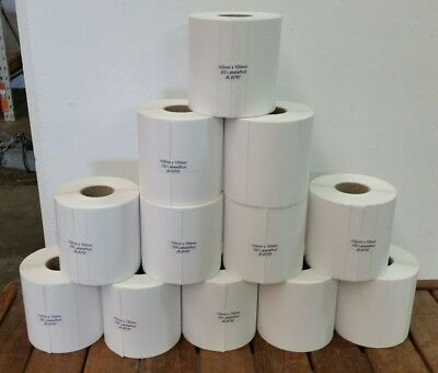 12 x Thermal Direct Labels - 350/Roll 102x150mm Fastway EParcel Startrack & more
