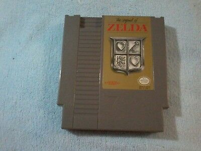 The Legend of Zelda (Nintendo Entertainment System, 1987)  Cartridge only Tested