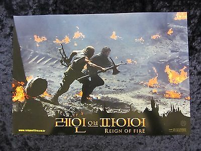 Reign Of Fire lobby card # 4 - Matthew McConaughey, Christian Bale