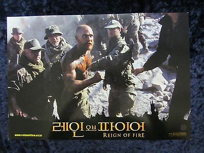 Reign Of Fire lobby card # 3 - Matthew McConaughey, Christian Bale