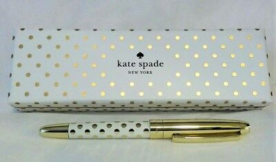 c4f1863889b kate spade New York Gold Dot Ballpoint Pen  She Wrote Her Own Happily Ever  After