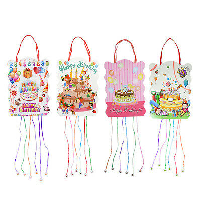 Children's Cute Pinata Boys Girls Birthday Party Toy Home Party Decor Gift Bags