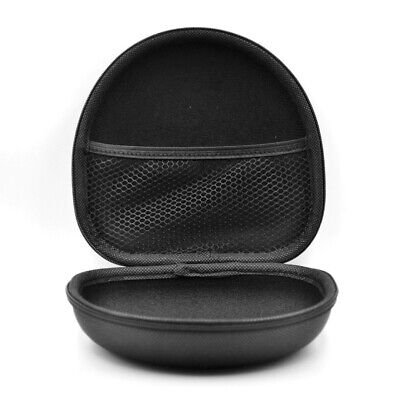 Headphone Storage Case Box Bag pouch On Ear Headphones Black For Marshall Major