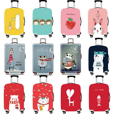 Lovely Elastic Suitcase Protective Skin Cover Anti Stratch Travel Luggage Cover