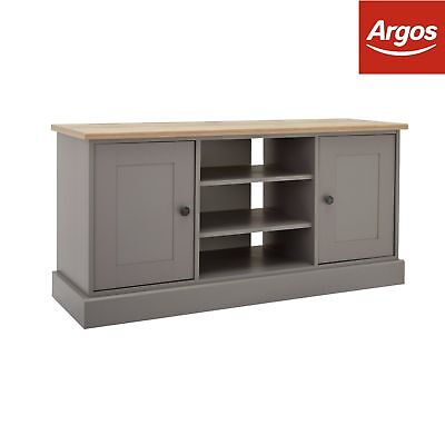 Argos Home Winchester 2 Door Sideboard and TV Unit - Grey