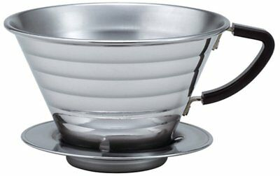 Kalita Wave Series Stainless Steel Dripper Pour Over Drip for 2 to 4 cups #05033