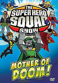 Super Hero Squad Show - 22-26 Mother Of Doom New Region 2 Dvd