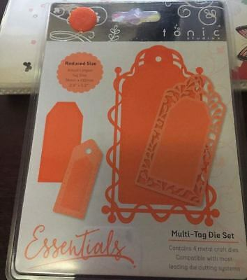 Multi Tag Die Cutting Set