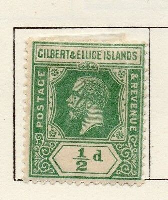Gilbert and Ellice Islands 1912 Issue Fine Mint Hinged 1/2d. EdVII 264661