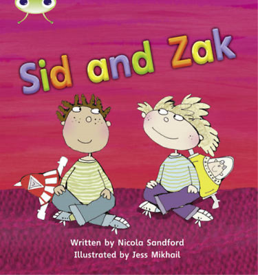 Sid and Zak: Set 07 (Phonics Bug), Sandford, Nicola, Used; Good Book
