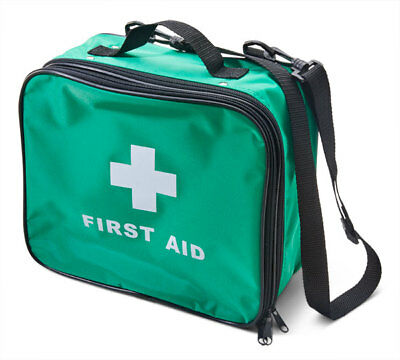 Click Medical Empty Green Multi Purpose First Aid Kit Bag Responder Travel Event