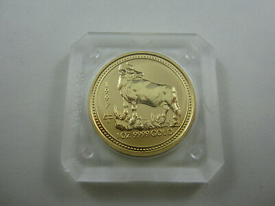1997 Year of the Ox 1 oz Perth Mint Gold Series 1 Lunar - exceptional. RARER