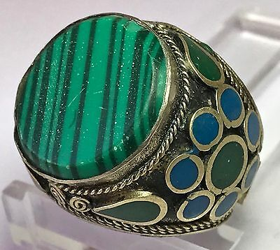 Turkoman / Islamic Malachite Ring