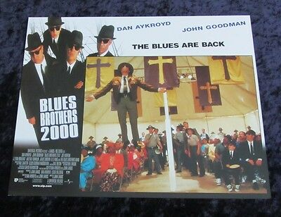 Blues Bros 2000  lobby card # 7 Dan Aykroyd, John Goodman