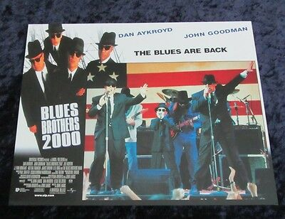 Blues Bros 2000  lobby card # 5 Dan Aykroyd, John Goodman