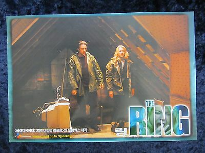 The Ring lobby card # 7 Naomi Watts, Martin Henderson, Horror