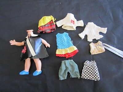 Remco Heidi Body and Clothing Lot--Japan/Hong Kong/Unmarked READ