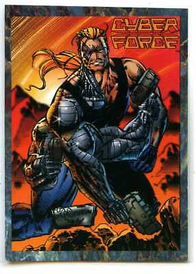 Cyber Force - Stryke Force - #1 - Cards Illustrated - Major Stryker