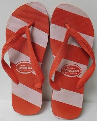 cece88bc2 Havaianas Red And White Flip Flops Mens Size Us - 9 Eu - 43 44