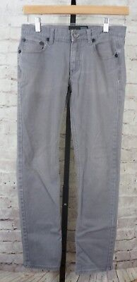 RSQ Jeans - Boys Gray Tokyo Super Skinny Chino Pants Jeans - Tag Size 16
