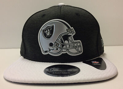 aa7bed4a80e OAKLAND RAIDERS NEW Era 9FIFTY NFL Baycik Snap Snapback Hat Cap 950 ...