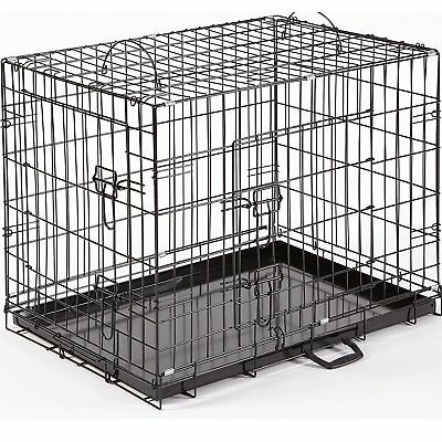 Dog Crate Cage Extra Large Ellie Bo Divider 42-Inch Gold