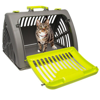 Pet Solutions Pet Carrier Collapsible: Dog Carrier Small, Cat Carrier, 25 lbs