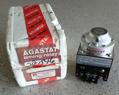 **NEW IN BOX** AGASTAT 2412 PN Timing Relay .2-180 Sec. 120V DC  *FREE SHIP USA*