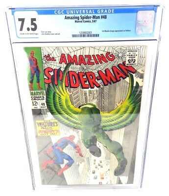 Amazing Spider-Man #48 CGC 7.5 1st Blackie Drago Appearance as Vulture
