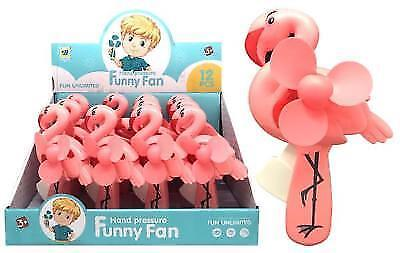 FLAMINGO SERIES HAND POWERED MINI FAN - 1 item/unit only