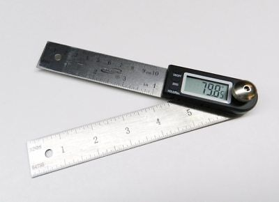 "iGAGING Digital Protractor with 7"" and 4"" Stainless Steel Blade (35-407)"