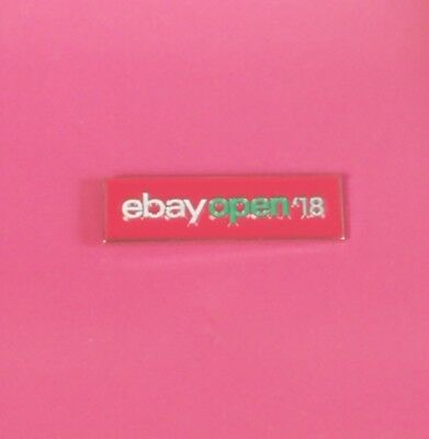 eBay OPEN 18 Conference Collectible Pin eBayana Exclusive Pink Red