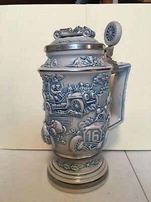 RACE CAR BEER STEIN  new numbered
