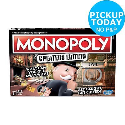 Monopoly Game: Cheaters Edition from Hasbro Gaming - 2+ Players.