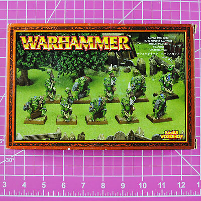 Warhammer Fantasy Savage Orc Boyz, Metal OOP Games Workshop Citadel Orcs Goblins