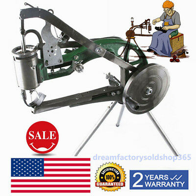 Manual Shoe Making Sewing Machine Shoes Leather Repair Stitching Equipment USA