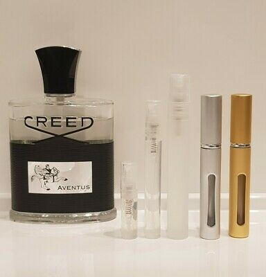 AVENTUS by Creed - EDP: 2ml - 5ml - 10ml Sample Spray Atomiser: 100% GENUINE