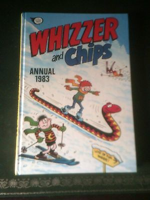 Whizzer and Chips Annual 1983, Published 1982, Near Mint Vintage Book