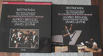 Beethoven - 5 Klavierkonzerte Alfred Brendel Chico Symphony Orchestra NM Conditi