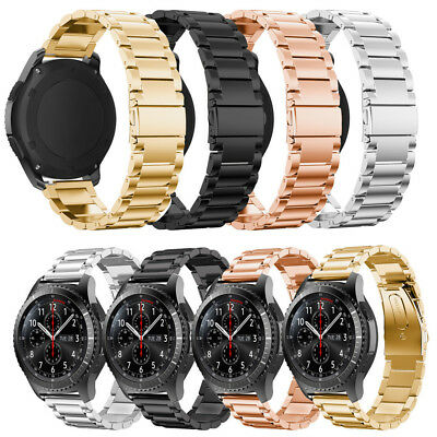 Samsung Gear S3 Classic / Frontier Stainless Steel Strap Watch Band Bracelet US
