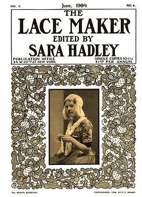 Sara Hadley #2.06 June, 1904  Lessons in Hardanger Embroidery & Cross Stitch