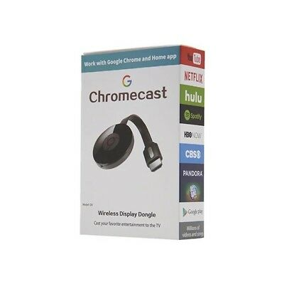 Chromecast 2 Wifi Display HDMI Dongle Récepteur Airplay DLNA Support Google home