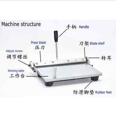 300mm Manual Leather Folding Machine For Leather, PU Sheet Leather Creasing m