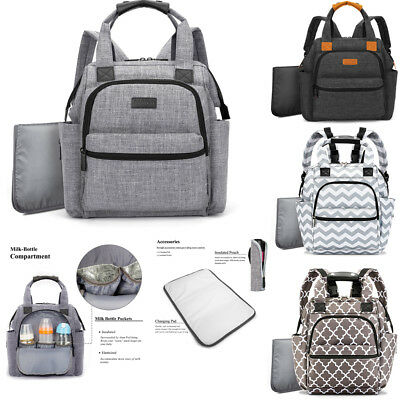 Nappy Yummy Mummy Changing Maternity Baby Multifunctional Backpack Diaper Bags