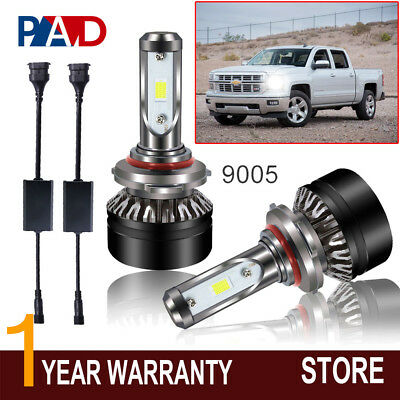 LED Headlights Bulbs Conversion Kit Lights for Toyota Camry 1992-2006 High Beam
